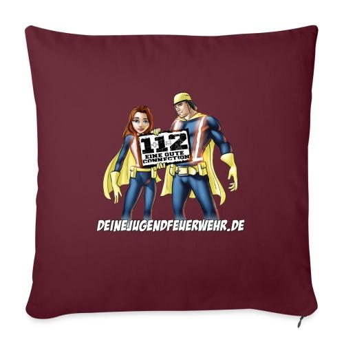 Superhelden & Logo - Sofakissen mit Füllung 44 x 44 cm