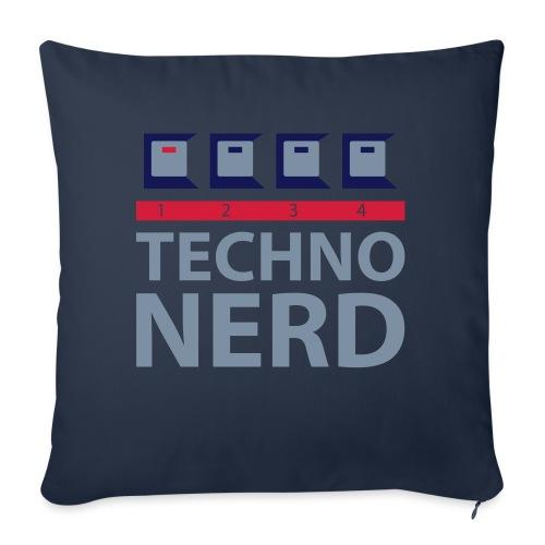 Techno Nerd - Sofa pillow with filling 45cm x 45cm