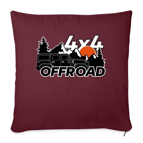 Offroad 4x4 Jeep Logo - Sofakissen mit Füllung 44 x 44 cm