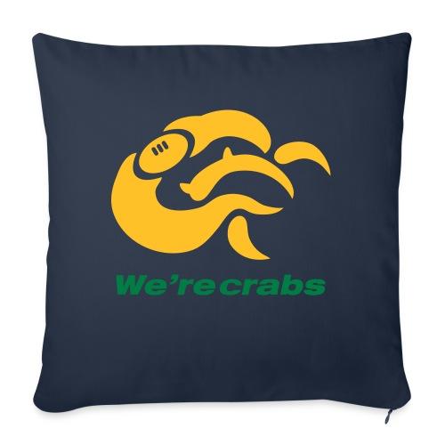Crazycrab_Australia - Cuscino da divano 44 x 44 cm con riempimento