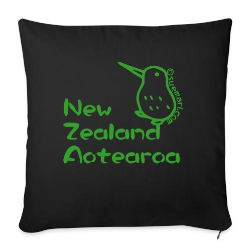 New Zealand Aotearoa - Sofa pillow with filling 45cm x 45cm