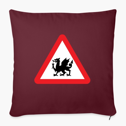 Welsh Dragon - Sofa pillow with filling 45cm x 45cm