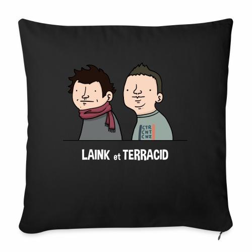 Laink et Terracid old - Coussin et housse de 45 x 45 cm