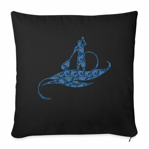 Blue Ocean - Coussin et housse de 45 x 45 cm