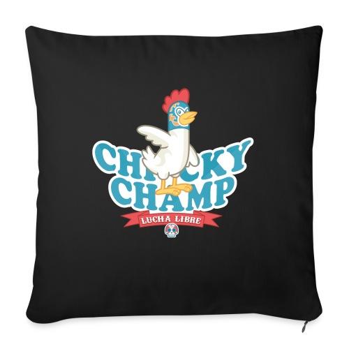 Chicky Champ - Cuscino da divano 44 x 44 cm con riempimento