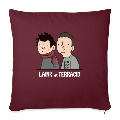 Laink et Terracid - Coussin et housse de 45 x 45 cm