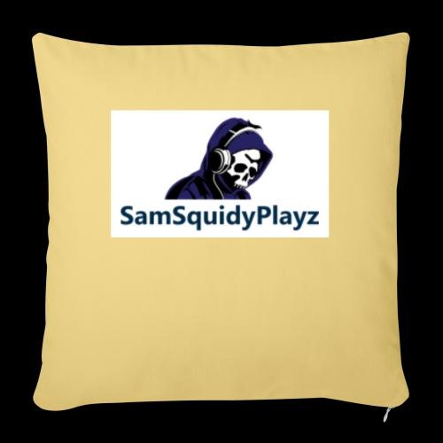SamSquidyplayz skeleton - Sofa pillow with filling 45cm x 45cm