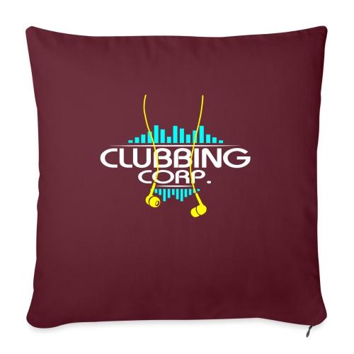 Clubbing Corp. by Florian VIRIOT - Coussin et housse de 45 x 45 cm