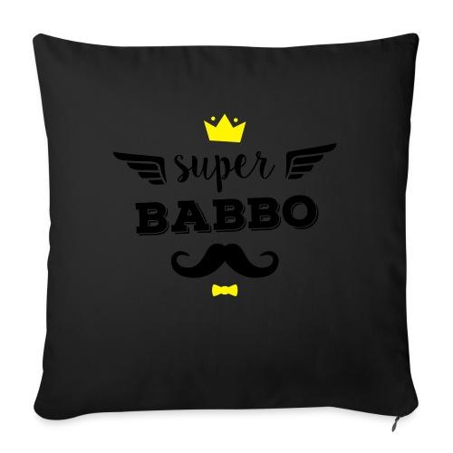 Super Babbo - Cuscino da divano 44 x 44 cm con riempimento