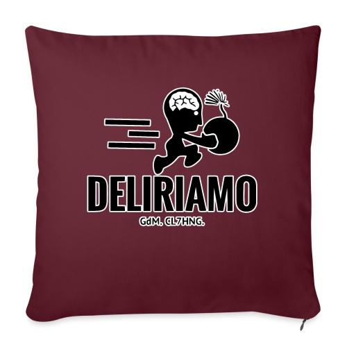 DELIRIAMO CLOTHING BRAINBOMB - Cuscino da divano 44 x 44 cm con riempimento