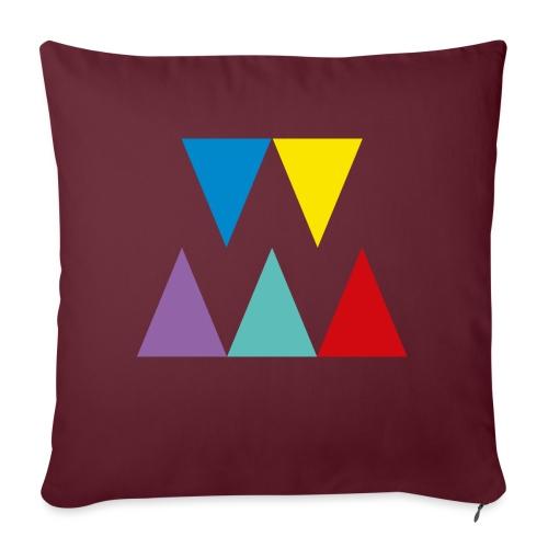 Logo We are les filles - Coussin et housse de 45 x 45 cm