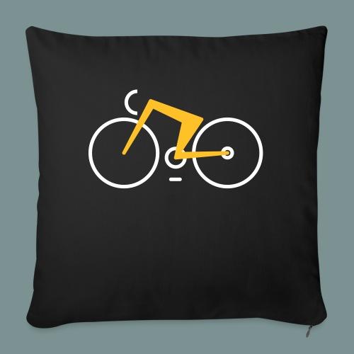 Bikes against cancer - Sofapude med fyld 44 x 44 cm