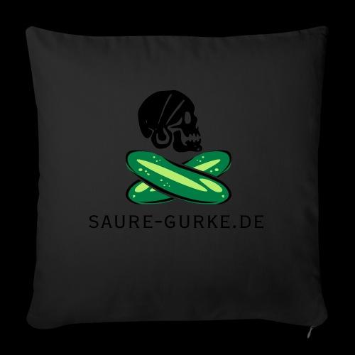 saure-gurke-pirat 01 - Sofakissen mit Füllung 44 x 44 cm
