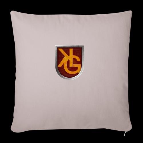 KG logo - Sohvatyynyt täytteellä 44 x 44 cm