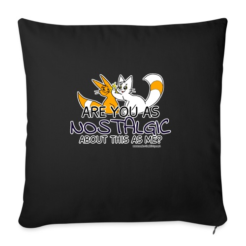 Nostalgia Hurts - Sofa pillow with filling 45cm x 45cm