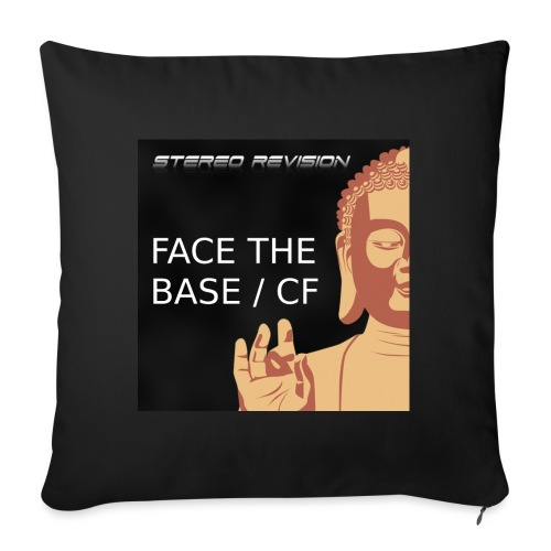 Face the base cover - Sofa pillow with filling 45cm x 45cm