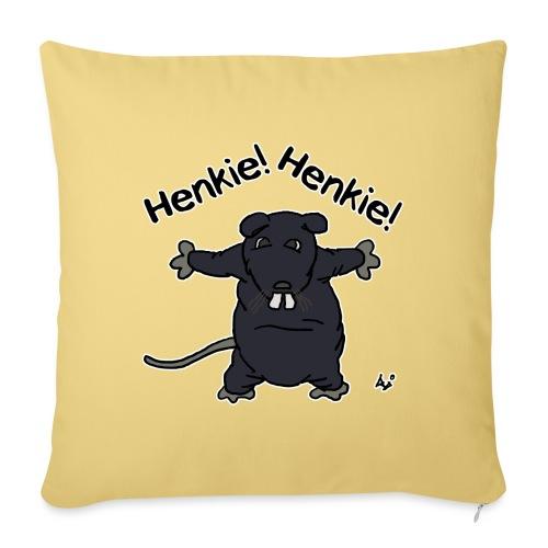Henkie! Henkie! (the plush rat) - Bankkussen met vulling 44 x 44 cm