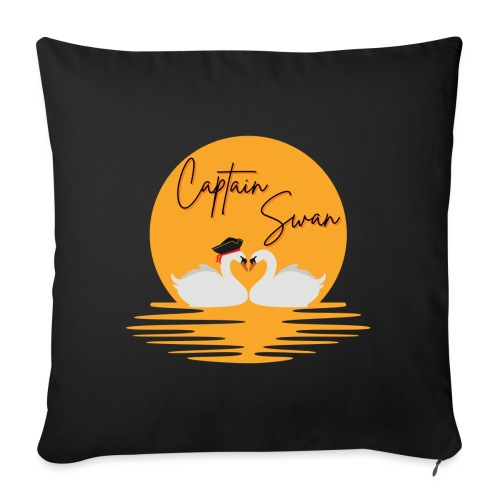 Captain Swan - Coussin et housse de 45 x 45 cm