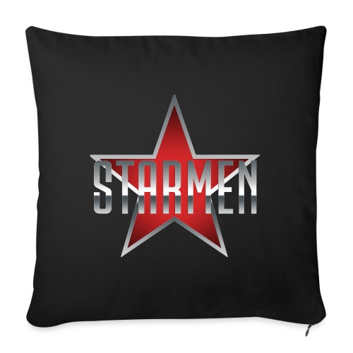Starmen - Logo - Sofa pillow with filling 45cm x 45cm