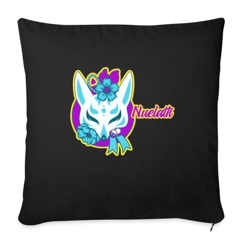 Nuelath fox Logo - Sofa pillow with filling 45cm x 45cm