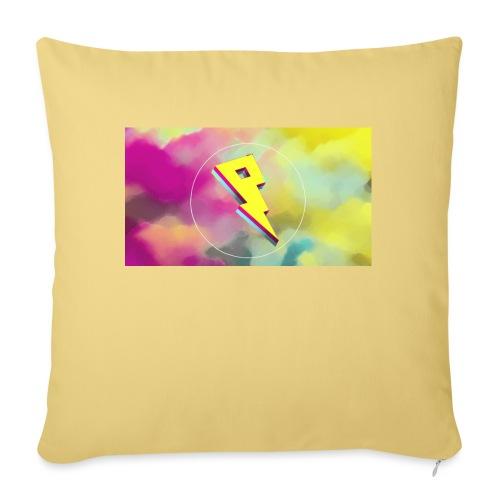lightning bolt - Sofa pillow with filling 45cm x 45cm