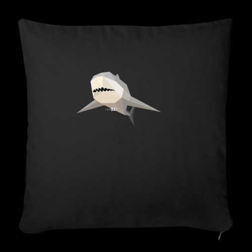 SHARK COLLECTION - Cuscino da divano 44 x 44 cm con riempimento