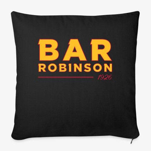 Logo Bar Robinson - Sofa pillow with filling 45cm x 45cm