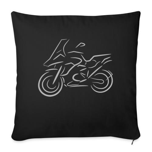 Motorrad Fahrer, Bike, Biker, 1200 - Sofakissen mit Füllung 44 x 44 cm