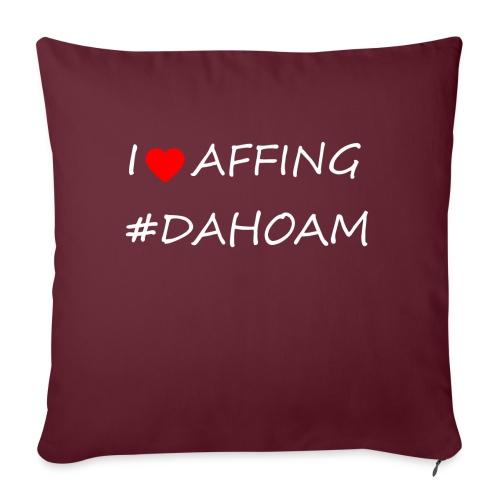 I ❤️ AFFING #DAHOAM - Sofakissen mit Füllung 44 x 44 cm
