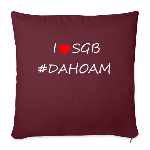 I ❤️ SGB #DAHOAM - Sofakissen mit Füllung 44 x 44 cm