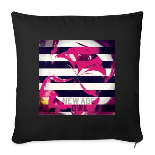 New age owl - Sofa pillow with filling 45cm x 45cm