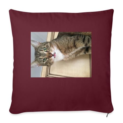 Kotek - Poduszka na kanapę z wkładem 44 x 44 cm