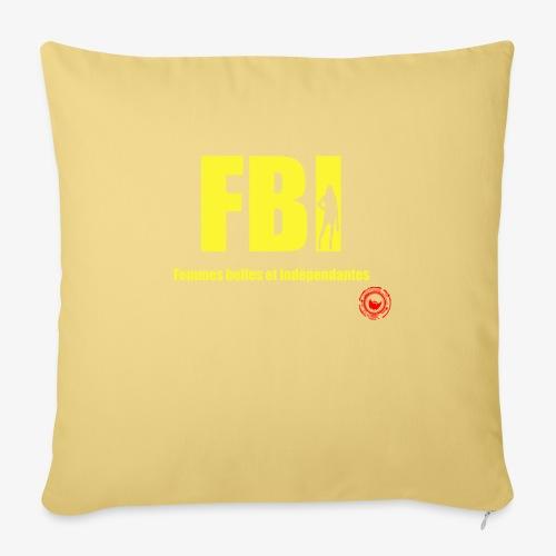 FBI - Sofa pillow with filling 45cm x 45cm