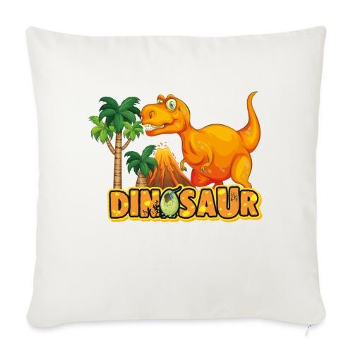 My Friend Dino - Cojín de sofá con relleno 44 x 44 cm