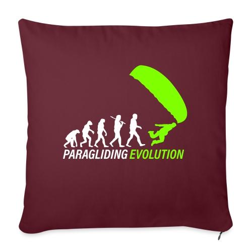 Paragliding Evolution - Sofakissen mit Füllung 44 x 44 cm