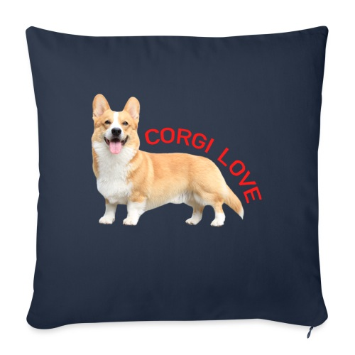 CorgiLove - Sofa pillow with filling 45cm x 45cm