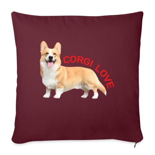CorgiLove - Sofa pillow with filling 45cm x 45cm