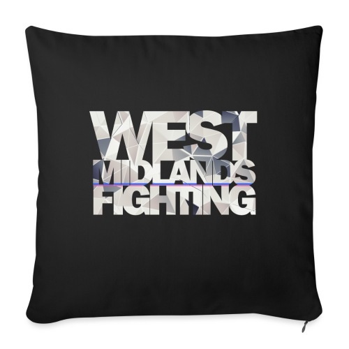 WMF low poly light - Sofa pillow with filling 45cm x 45cm