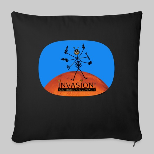 VJocys Invasion Mars - Sofa pillow with filling 45cm x 45cm