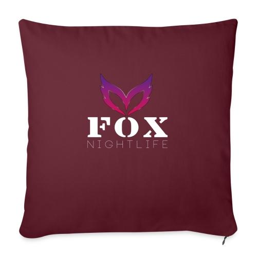 Vrienden van Fox Nightlife - Bankkussen met vulling 44 x 44 cm