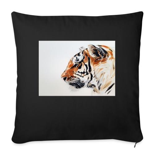 Tigre - Cojín de sofá con relleno 44 x 44 cm