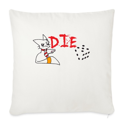 DIE - Sofa pillow with filling 45cm x 45cm