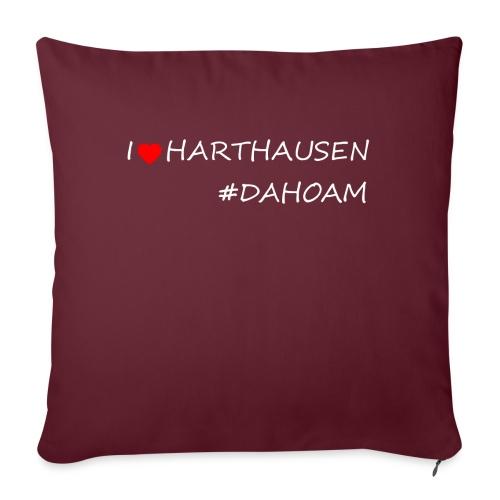 I ❤️ HARTHAUSEN #DAHOAM - Sofakissen mit Füllung 44 x 44 cm