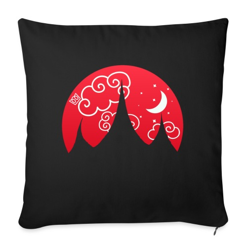 Fairytale Fortress - Sofa pillow with filling 45cm x 45cm