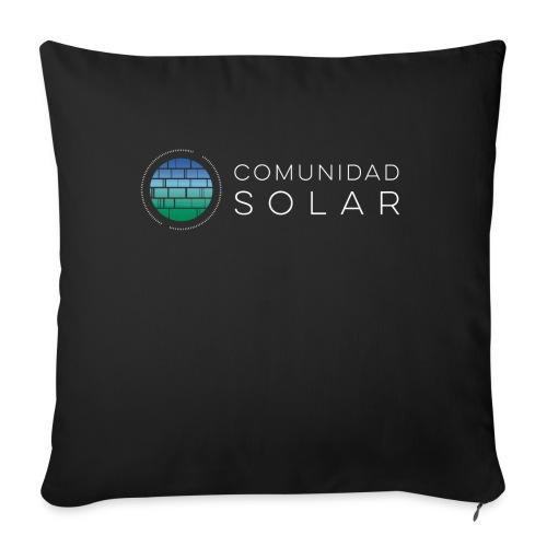 Comunidad Solar BASIC + Black - Cojín de sofá con relleno 44 x 44 cm