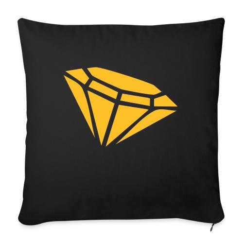Diamond - Sofa pillow with filling 45cm x 45cm