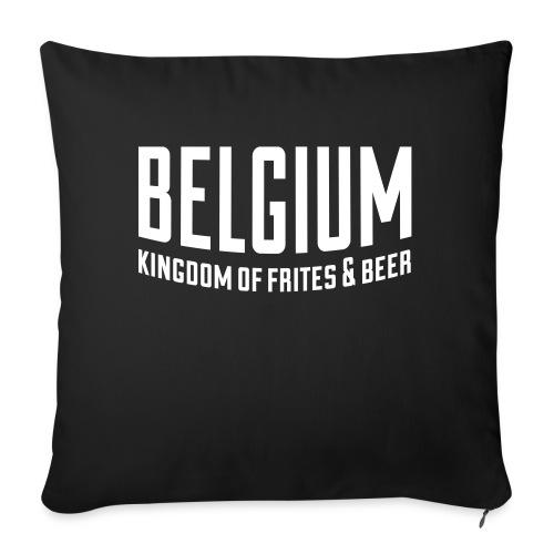 Belgium kingdom of frites & beer - Coussin et housse de 45 x 45 cm