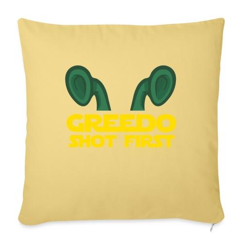 GreedoShotFirst 02 - Bankkussen met vulling 44 x 44 cm