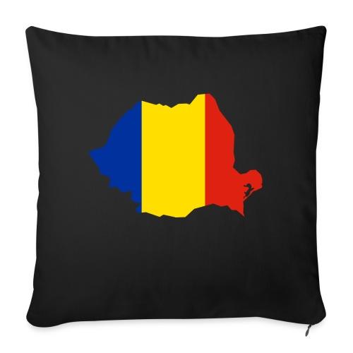 Romania - Bankkussen met vulling 44 x 44 cm