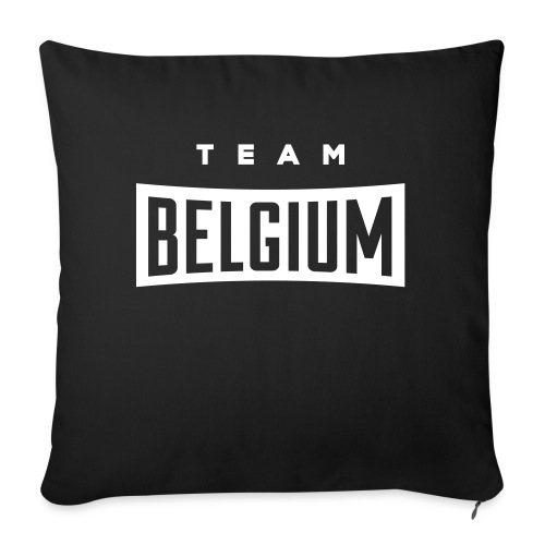 Team Belgium - Belgique - Belgie - Coussin et housse de 45 x 45 cm